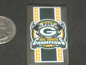 797a9a4d Green Bay Packers Money Clip Willabee & Ward 2007 NFC North Champs ...