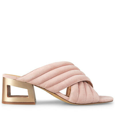 Wittner Ladies Shoes Pink Suede Sandals