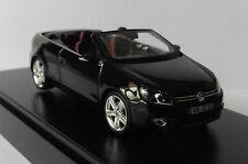 VW VOLKSWAGEN GOLF VI 6 CABRIOLET 2011 BLACK HERPA 5K7099300ICO 1/43 ROADSTER