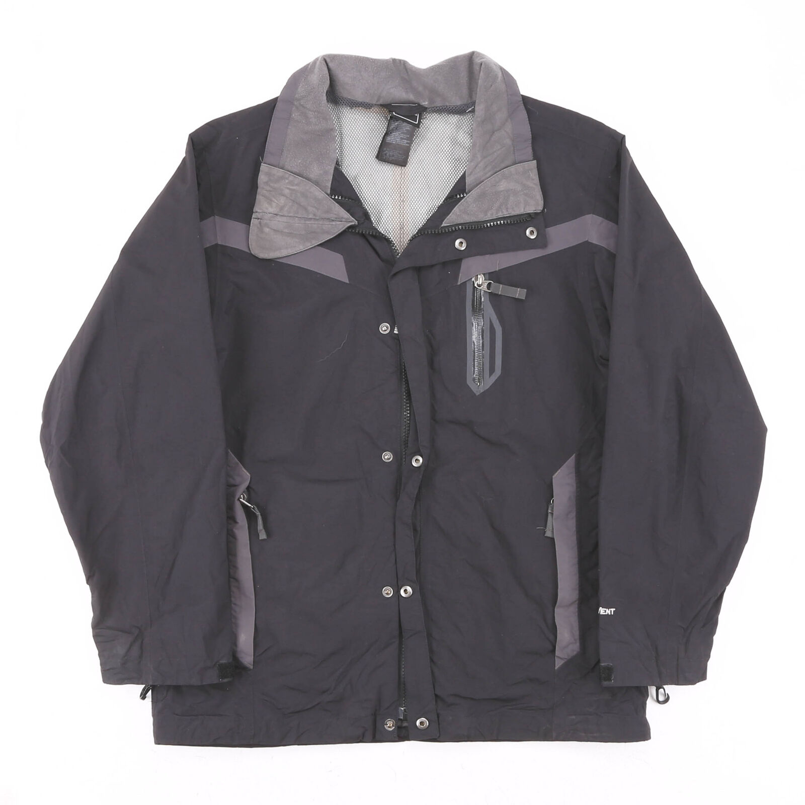 THE NORTH FACE Hyvent Black 00s Regular Casual Outdoor Jacket Mens S