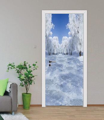 3D White Door Wall Mural Photo Wall Sticker Decal Wall AJ WALLPAPER CA