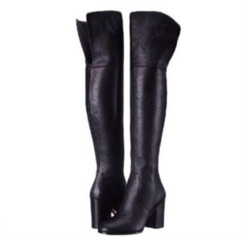 Via Spiga Beline Over the Knee OTK Boots Tall Boots Boots Boots Womens Boots Size 6.5 Black 924739