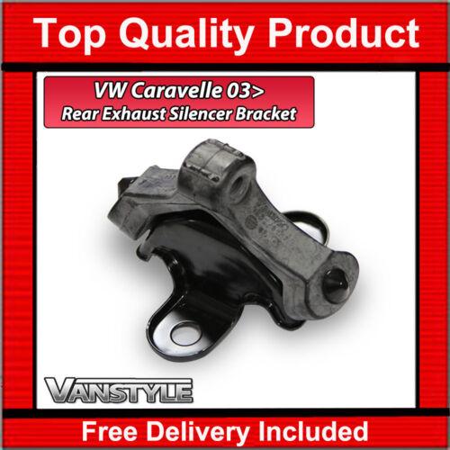 GENUINE VW VOLKSWAGEN T5 GP T6 CARAVELLE REAR EXHAUST SILENCER BRACKET RUBBER