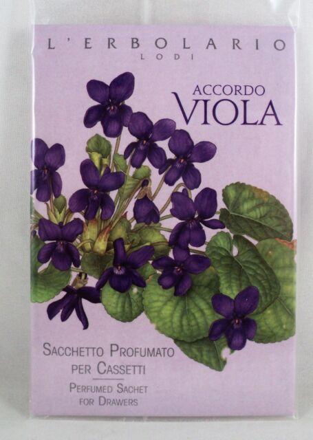 L'erbolario Sachet Parfumé x tiroirs parfum Violet Armoire linge | on