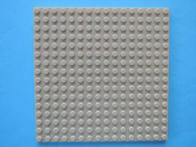 Lego 30225 # 1x Bau Platte Bauplatte 16x16 neu dunkelgrau grau 7945 5985