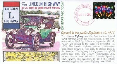 COVERSCAPE computer designed 100th anniversary of the Lincoln Highway cover