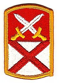 167th SUPPORT BRIGADE PATCH