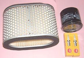 Service kit- Plugs , Air & Oil filter for SUZUKI TL TL1000 TL1000S  1997-00