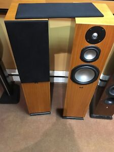 Image is loading CHARIO-SOLID-WOOD-SYNTAR-533-SPEAKERS-STORE-DEMO- 148c5f40dcac