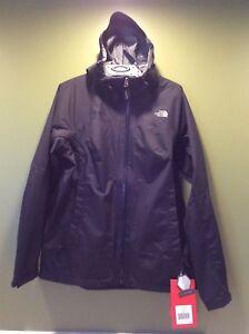 Jacket Medium 617932940146 North Sort Dry Rain The Face Rdt Hooded Flash Women's a8wxqq71Av