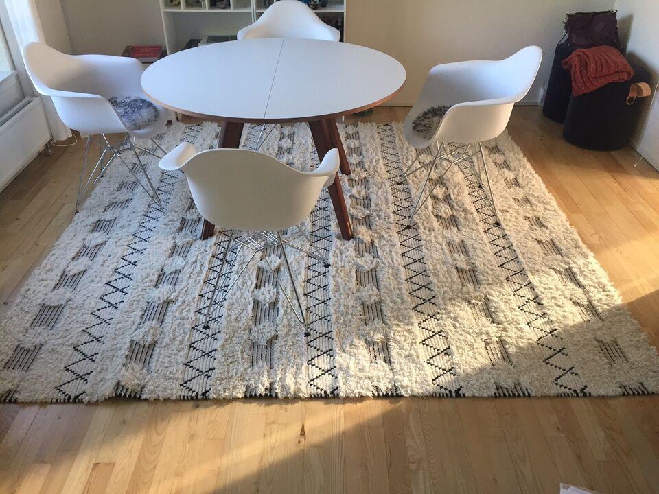 Løse tæpper, Uld, b: 250 l: 250