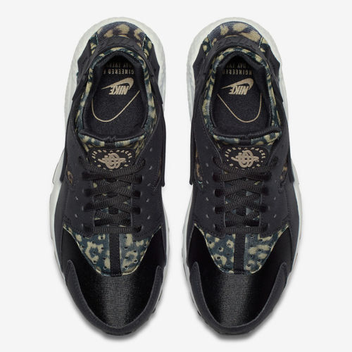 8bf24ca92649 ... WMNS Nike Nike Nike Air Huarache Leopard Cheetah Animal Safari Print  Black Khaki White 5.5 9cc0fd ...