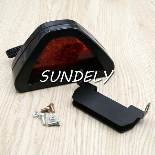2Pcs New Car 12v//12LED Rear Tail Brake DRL Stop Light Strobe Flash Fog Lamp Red