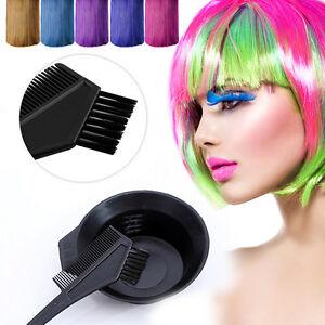 Neu-Faerbeschale-einfach-schwarz-Schale-Kamm-Buerste-Werkzeug-Set-fuer-Haarfarben