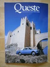 BENTLEY ROLLS ROYCE Queste High Quality Glossy Magazine brochure - Issue 9 1988