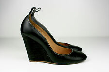 CHLOE Leather Wedge Heels Pumps Missing Straps Size 4