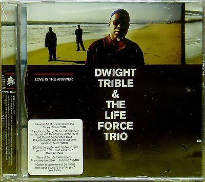 DWIGHT TRIBLE 'LOVE IS THE ANSWER' DOUBLE CD NEW UNPLAYED DISTRIBUTOR STOCK