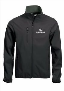 Taglie Quality Cappotto Lexus giacca S 5xl Softshell Nero ricamate wXpxApq