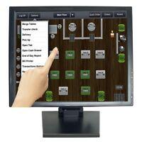 "NEW 17"" Touch Screen POS TFT LCD TouchScreen Monitor Bar Restaurant Retail Kiosk"