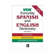 Vox Everyday Spanish and English Dictionary (VOX Dictionary Series) Vox Paperba
