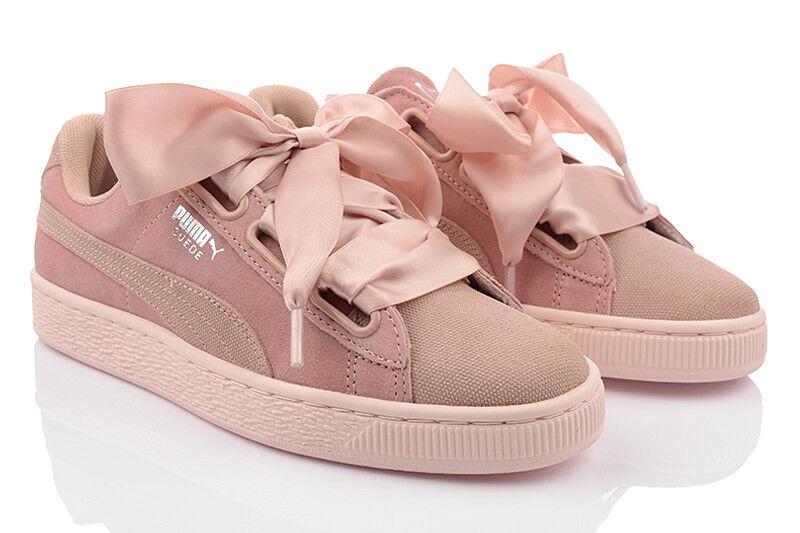 Neu Schuhe PUMA SUEDE HEART PEBBLE WN'S Damen Turnschuhe Sneakers Freizeit SALE