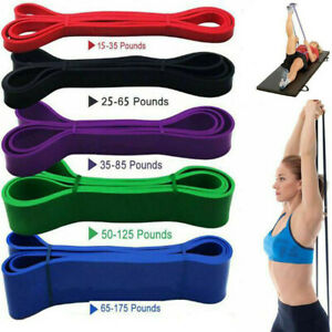 Resistance Bands Heavy Duty Assisted Band Pull Up Set Fitness Exercise Loop Tube