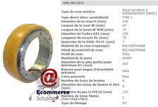 ROUE MOTRICE JUNGHEINRICH VULKOLLAN 77800344 EME12 230 65 75 mm PIECES DETACHEES