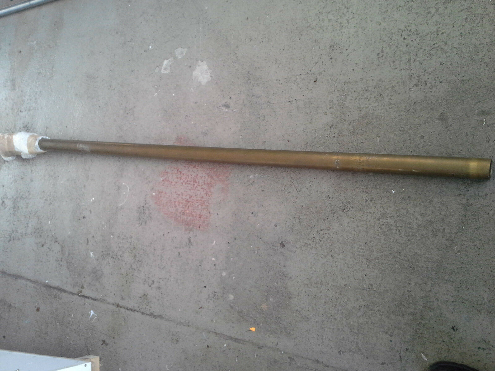 Stevenrohr 2m 44,45mm aussen innen 50mm aussen 44,45mm Verdränger Stiefel Wellenanlage 7d4560