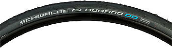 Schwalbe Durano Double Defense Tire 700 x 28 Folding Bead Graphite-Skin