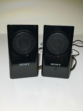 Sony Portable Travel Mobile Accessory Speakers Laptop Notebook SRS-M30 White