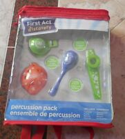Nip First Act Discovery Percussion Pack Castanet, Kazoo, Maraca, Ocarina
