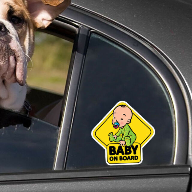 Auto Car/Window Sticker Decal Baby on Board Warning Safety Sign Decals Decor