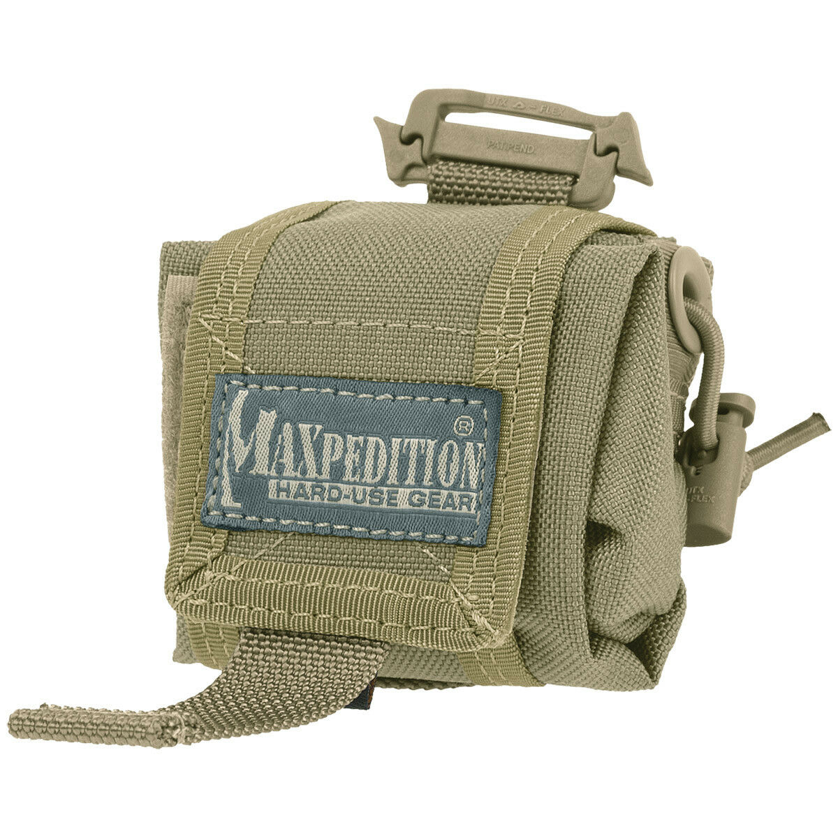 Maxpedition Mini Rollypoly Multipurpose Tactical Patrol Folding Dump Pouch Khaki