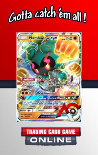 80//147 VIRTUAL Pokémon TCG Online Marshadow GX SM03: Burning Shadows