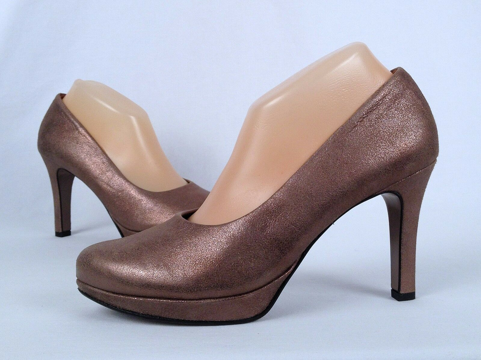 NEW   Paul Green 'Olisa' Pump- Earth Metalllic-Chose Size-    (O1)