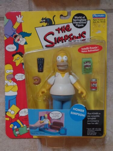Pick Homer The Simpsons WOS Interactive Figures Bart or Barney NEW MOC
