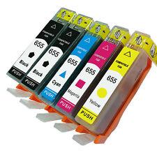 Compatible for HP 655 HP655 Ink Cartridges Deskjet 3525 4615 4625 5525 6520 6525