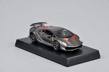1:64 Kyosho Diecast Car Model Grey Lamborghini Children Birthday Gift Minicar