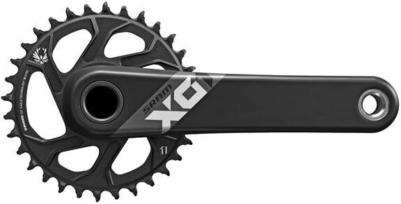 SRAM X01 Eagle Boost MTB BB30 1x Guarnitura in in in carbonio 12 velocità 32t x 170mm Nero bc776a