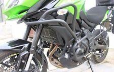 Black Crash Bar Engine Guard Frame Protector for 2015-2016 Kawasaki Versys 650