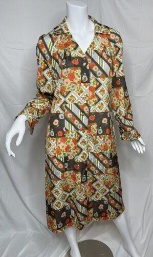 Vintage 60's-70's McMullen Floral Patchwork Shirt