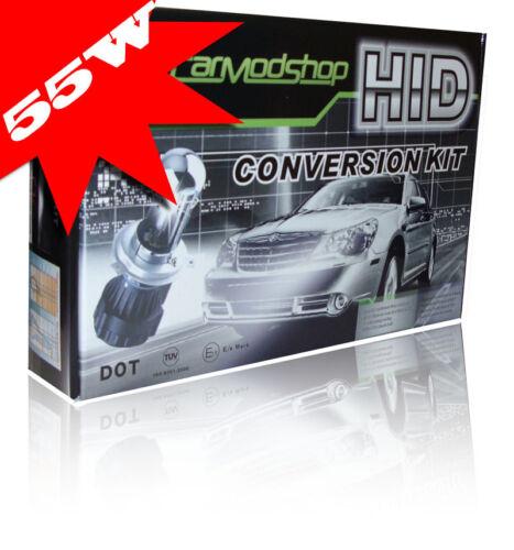 55W H7 H7R Xenon HID Conversion Kit Slim Ballast Headlight Bulbs Pair For Subaru
