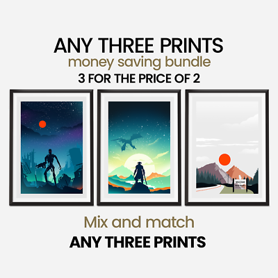 Choose your size 3 x Prints of your choice Money Saving Offer
