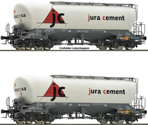a petición achstausch Märklin gratis Roco 76146 2 silowagen jura cement PE vi