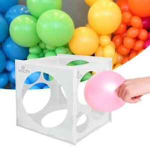 Balloon Sizer Ball Box Measurement Tool for Wedding Party 11 Holes 2 to 10 inch