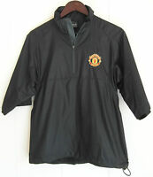 Manchester United Nike Golf Men's Black Jacket, Size S, FC, Football Club, Zip