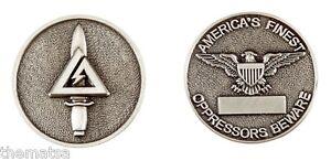 ARMY-DELTA-FORCE-OPPRESSORS-BEWARE-AMERICA-039-S-FINEST-SILVER-CHALLENGE-COIN
