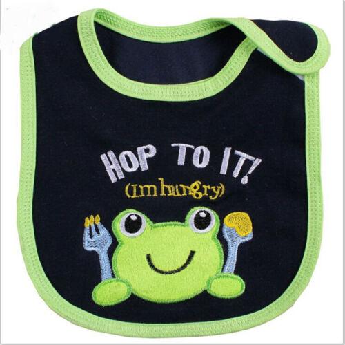 4 Baby Boys Kids Carter/'s Bibs Waterproof Saliva Feeding Cotton Velcro Fastening