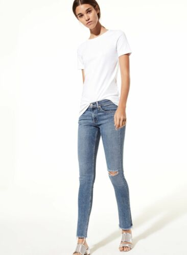 Destroy Distrutto Edge Hem Rag Bone Raw Frayed Nwt 190297193377 Sz Midland Skinny 30 Jeans nqYI04