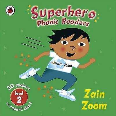 Superhero Phonics Readers Zain Zoom Level 2: Learn To Read-ExLibrary